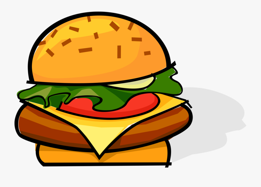 Transparent Hamburgers Clipart.