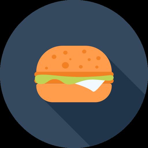 Hamburger Burger PNG Icon (19).