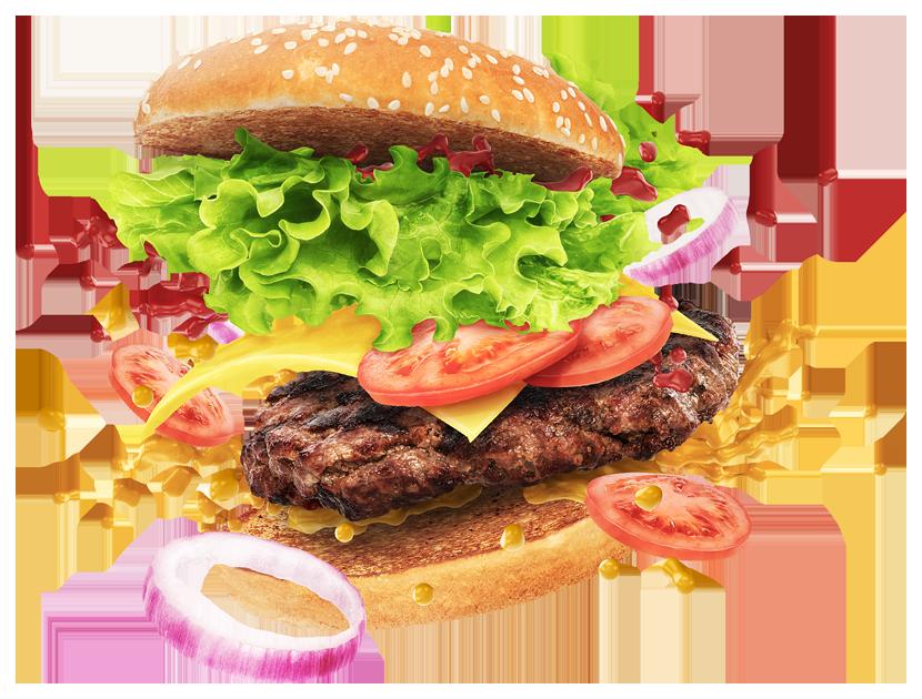 Burger Transparent Images.