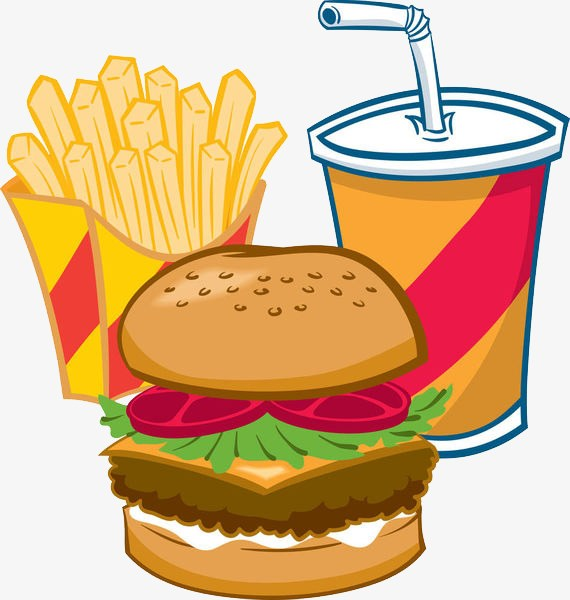 Burgers and fries clipart 6 » Clipart Portal.