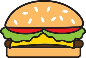 Burgers Clipart.