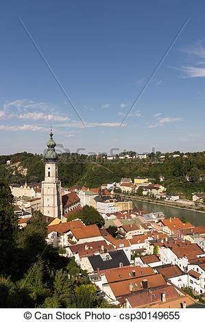 Stock Bilder von Bayern, burghausen, deutschland.