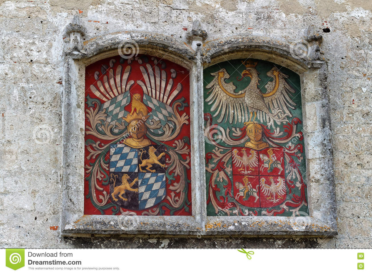 Royal Wall Paintings Stock Photos, Images, & Pictures.