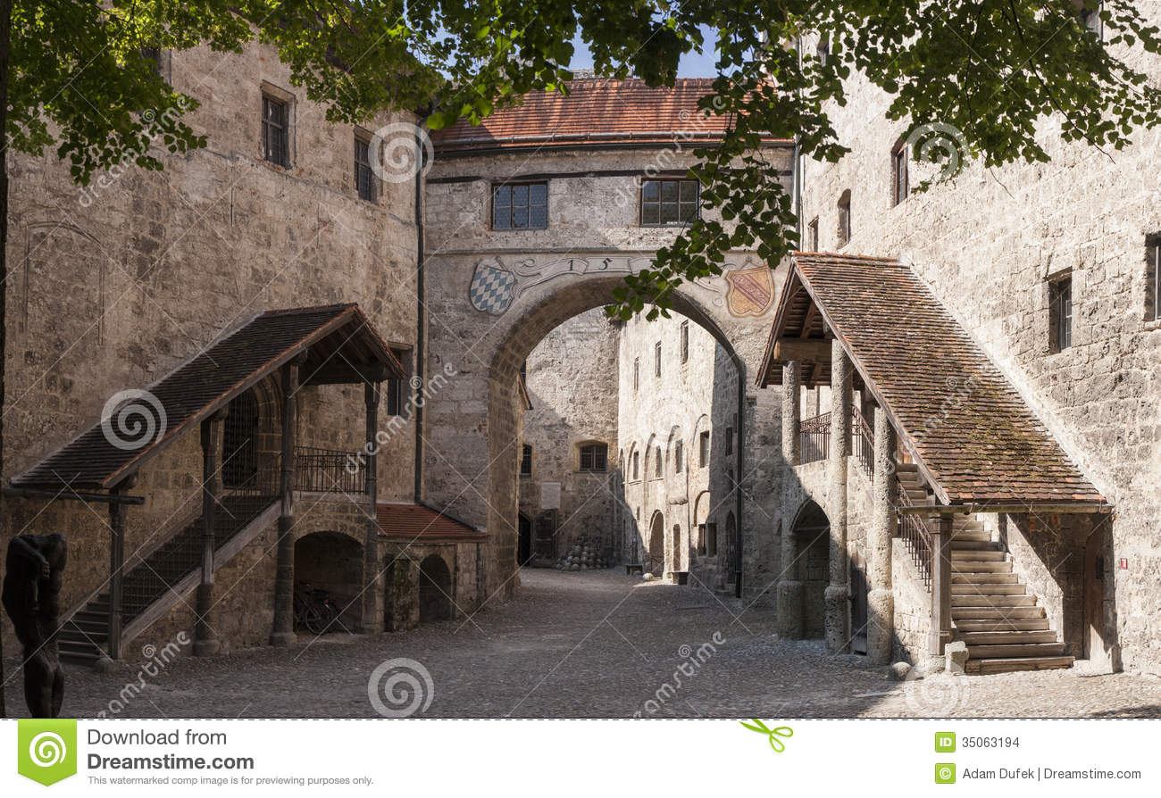 Burghausen Stock Images.