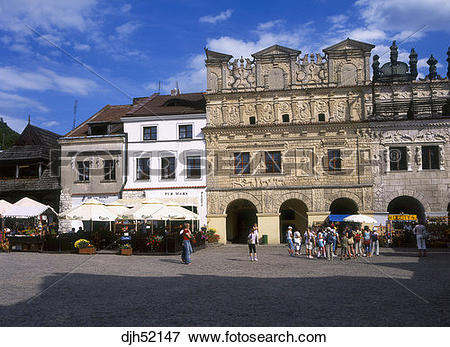 Picture of Burghers Houses, Old Town, Market Square, Kazimierz.