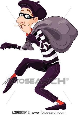 Burglar Clipart.