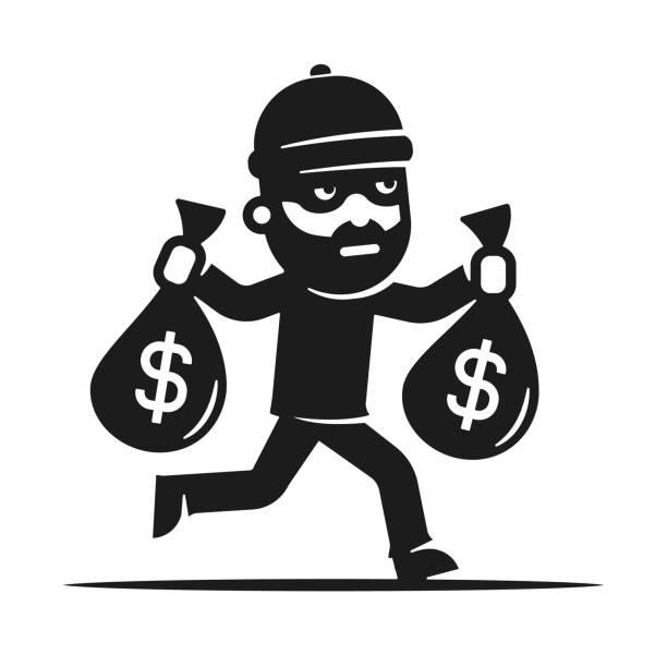Top 60 Burglar Clip Art, Vector Graphics and Illustrations.