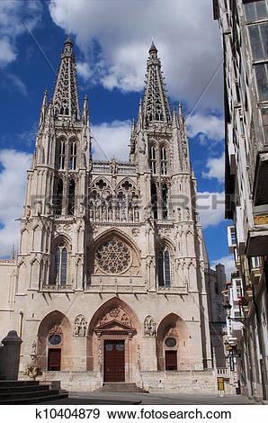 Stock Photograph of catedral de Burgos , Espa?a k10404879.