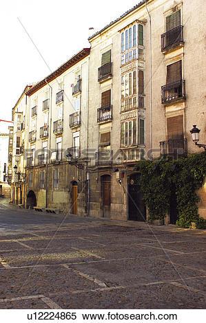 Stock Image of Spain, Castilla leon, Burgos, City, Town, Building.