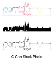Burgos Vector Clip Art Royalty Free. 30 Burgos clipart vector EPS.