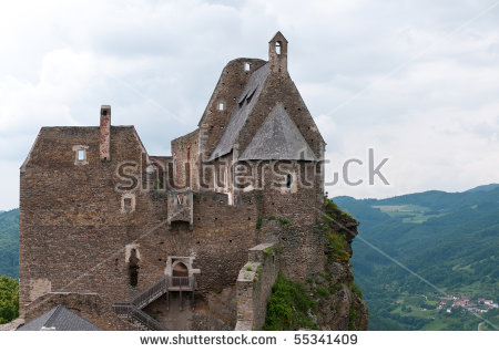 Aggstein Stock Photos, Royalty.
