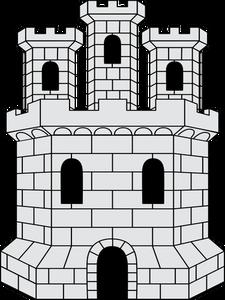 141 Burg kostenlose clipart.