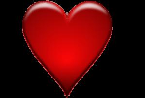 Burgundy Heart Cliparts.