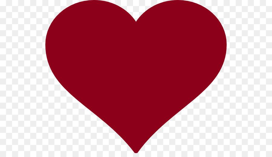 Heart clip art burgundy.