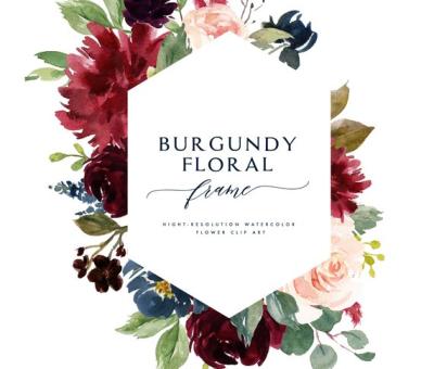 Burgundy PNG.