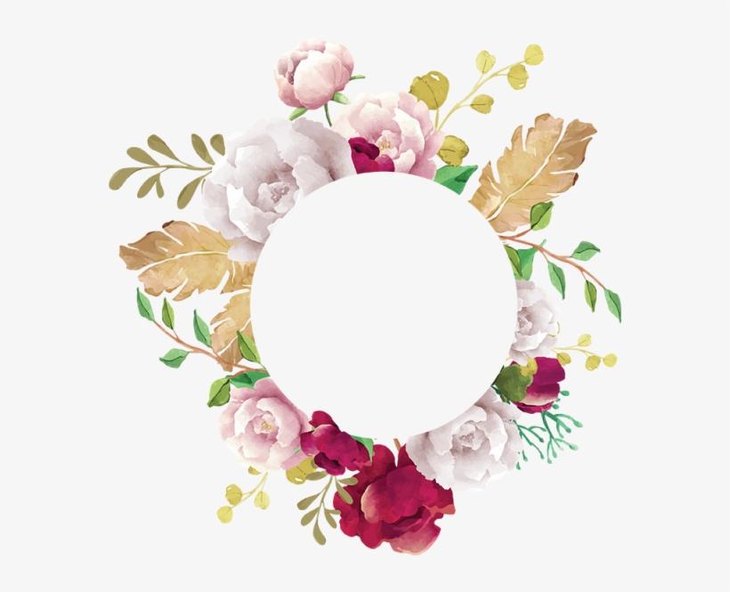 Flower Frame, Flower, Frame, White, Pink, Red, Burgundy,.