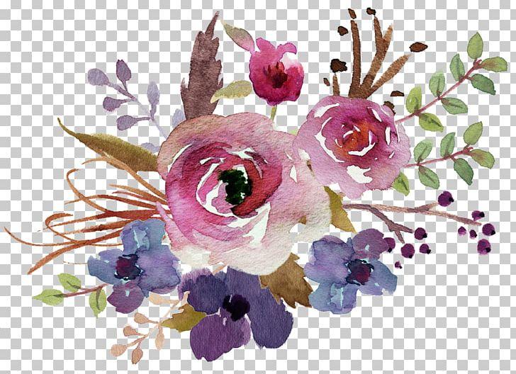 Flower Bouquet Watercolour Flowers Watercolor Painting Floral Design.