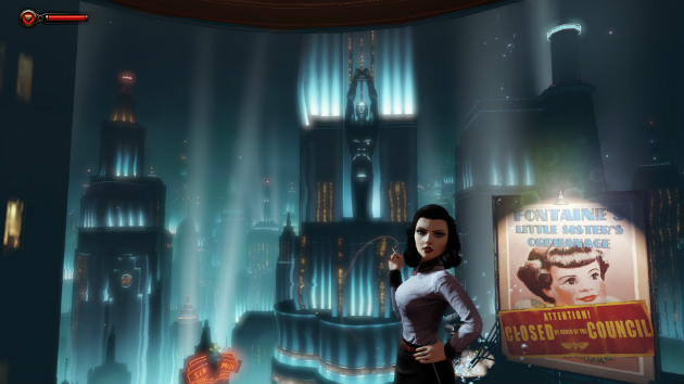 Bioshock Elizabeth Burial At Sea Episode 2.