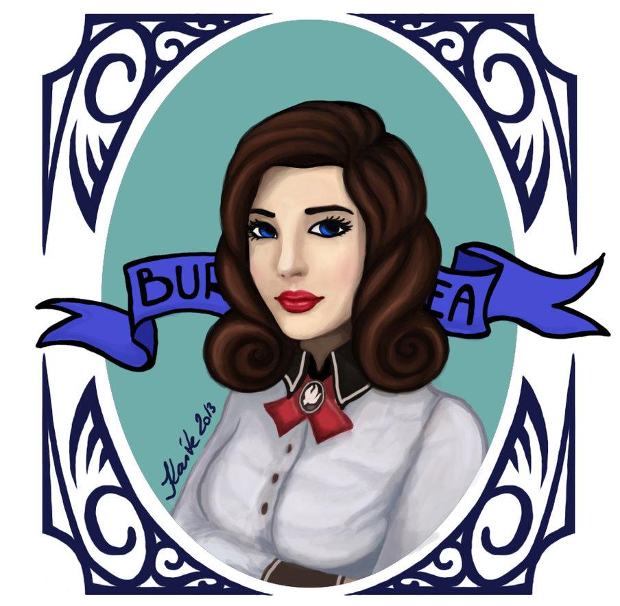Elizabeth (BioShock Infinite: Burial at Sea) by KaiteValentine on.