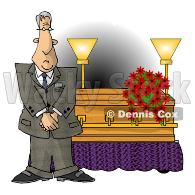 Burial Clipart by Dennis Cox.