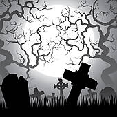 Cemetery Clip Art.