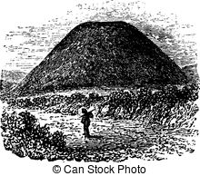 Old burial mound Illustrations and Clip Art. 14 Old burial mound.