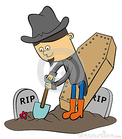 Grave digger clipart Clipground