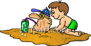 a_child_burying_a_man_in_the_sand_royalty_free_080728.
