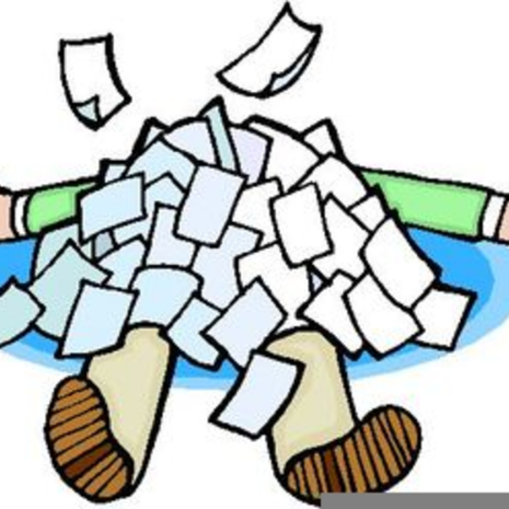 Free Clipart Paperwork Overload & Free Clip Art Images #29876.