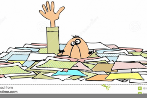 Buried in paperwork clipart 2 » Clipart Portal.