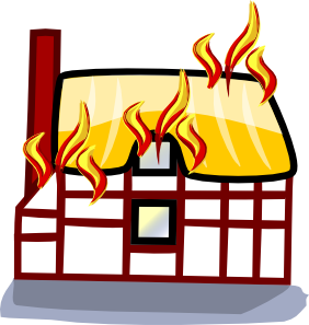 Burning Clipart.