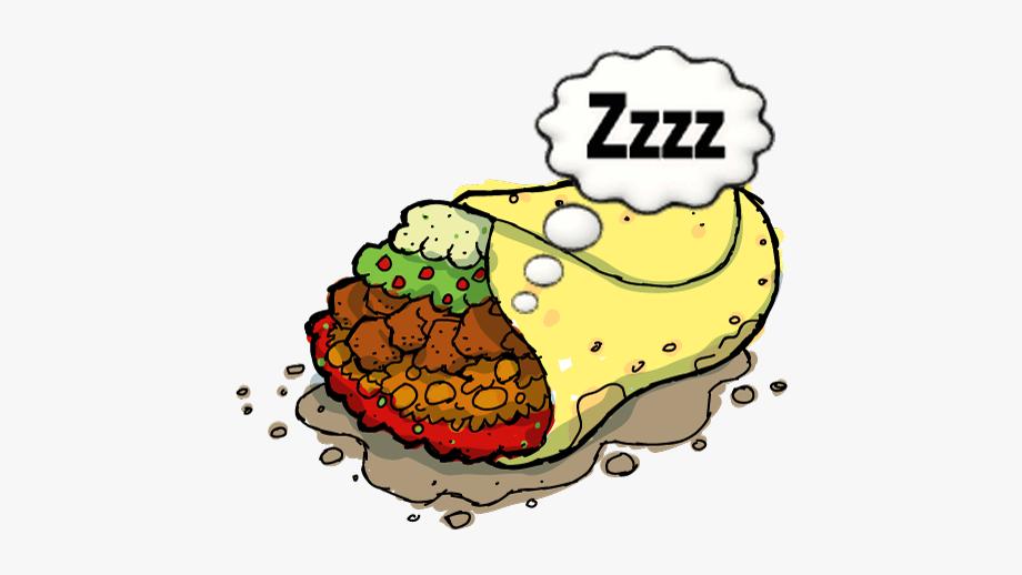Tired Burrito.