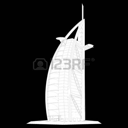 200 Burj Al Arab Stock Vector Illustration And Royalty Free Burj.