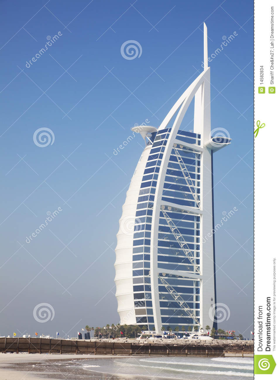 Burj Al Arab, Dubai, UAE Stock Images.