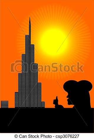 Burj khalifa Illustrations and Clip Art. 204 Burj khalifa royalty.