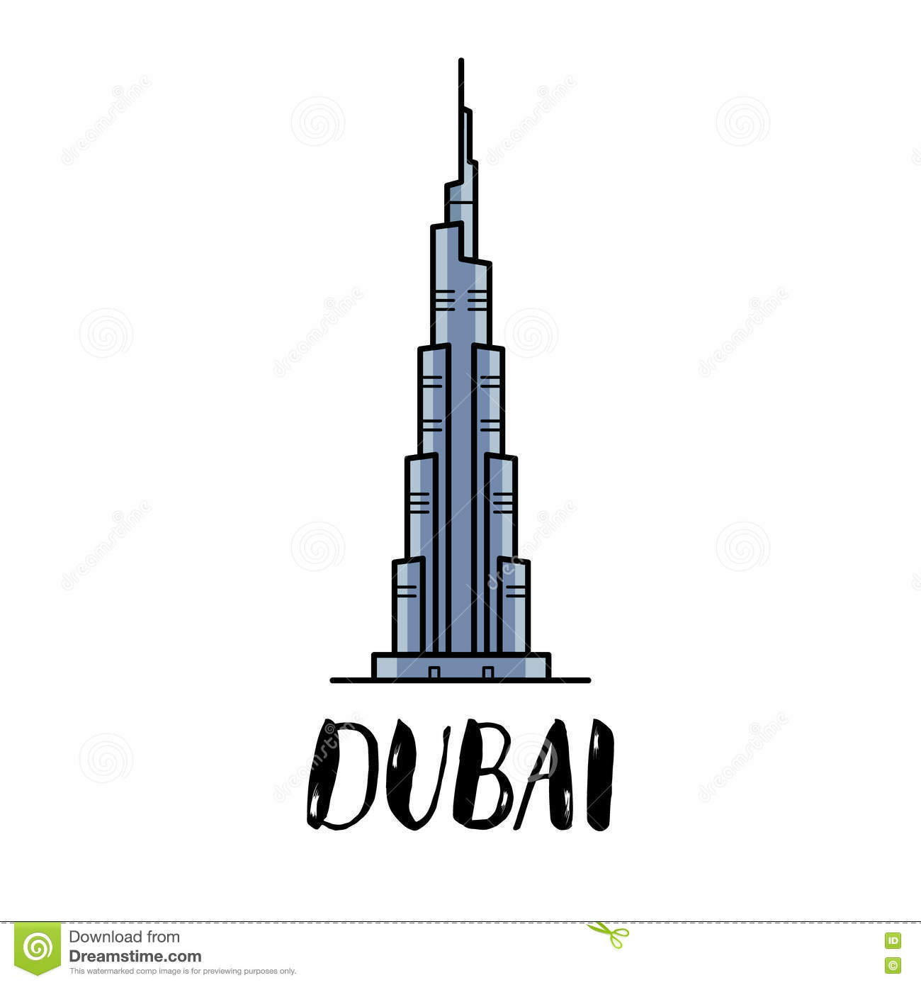 Showing post & media for Burj khalifa cartoon.