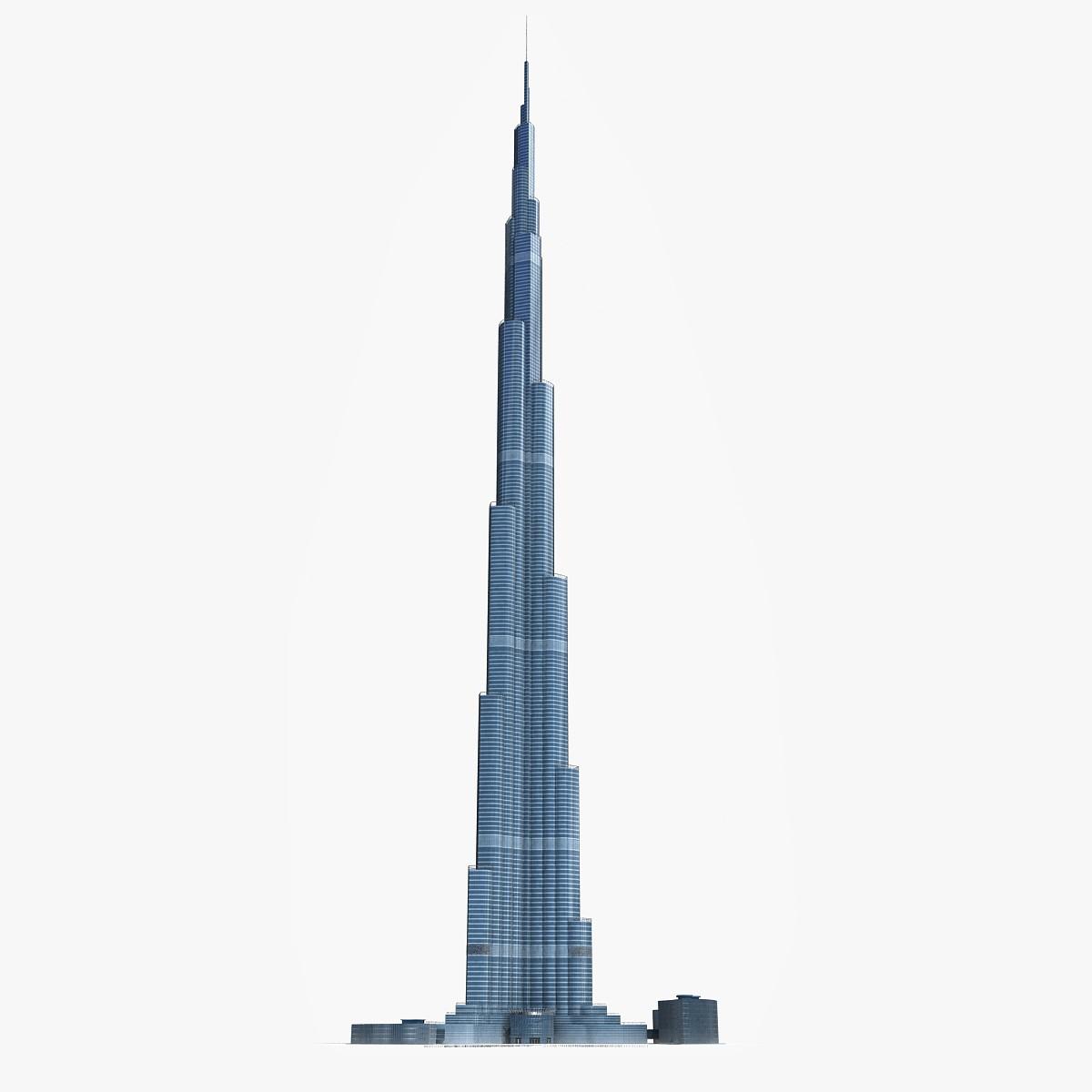 Burj Khalifa Clip Art.