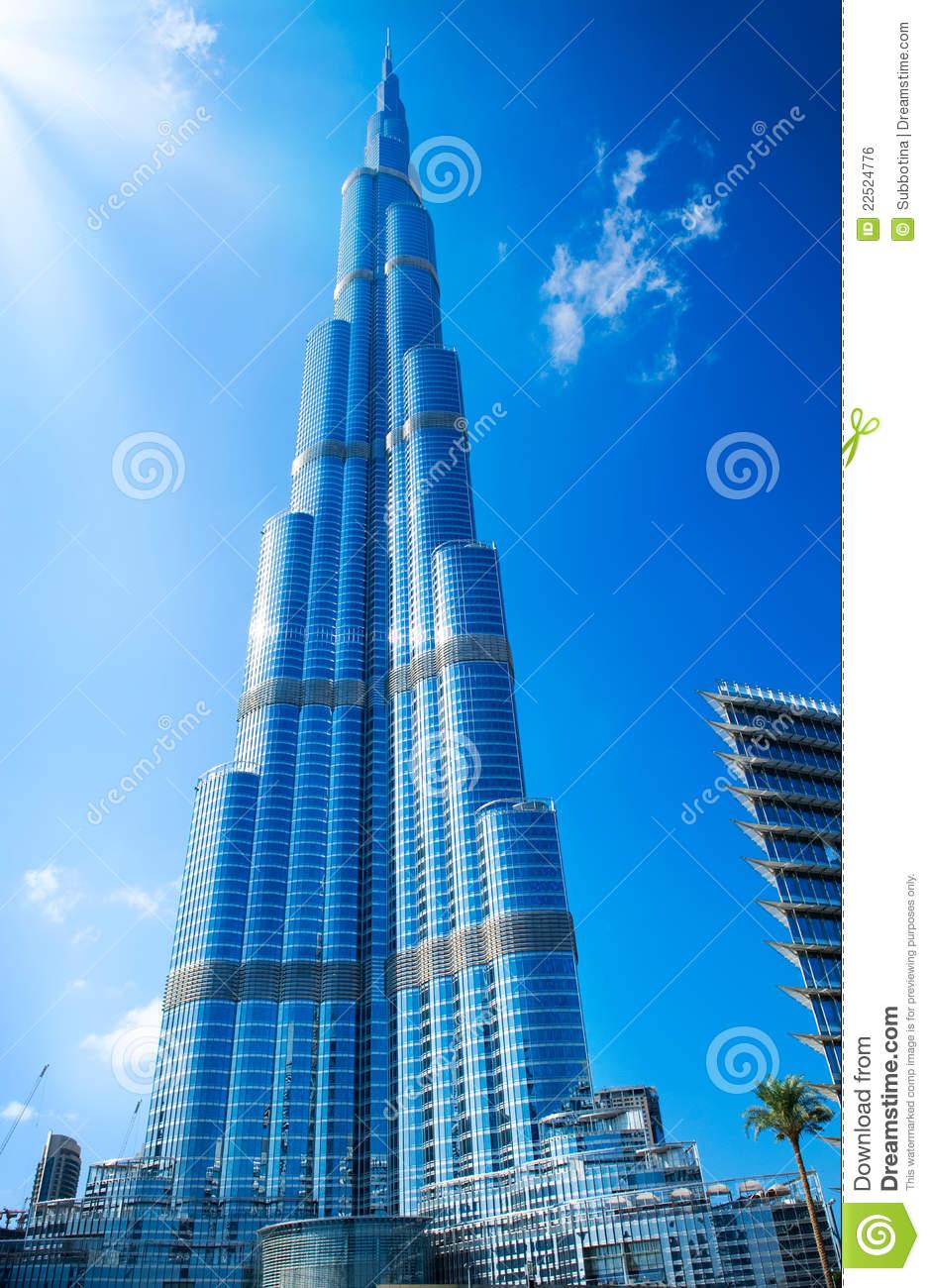 DUBAI, UAE. Burj Khalifa Royalty Free Stock Image.