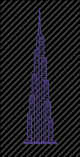 Image result for burj khalifa 2d drawing.