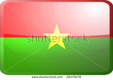 Burkina Faso Flag Stock Images, Royalty.