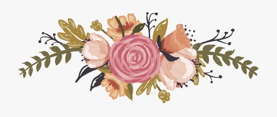 Bridal Clipart Burlap Flower.