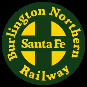 Burlington Northern Santa Fe Railway.