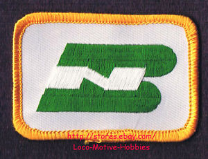 Details about LMH PATCH Badge BURLINGTON NORTHERN Railroad BN Green Gold  Logo pre BNSF 2.