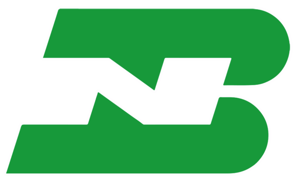 Burlington Northern Vinyl Sticker.