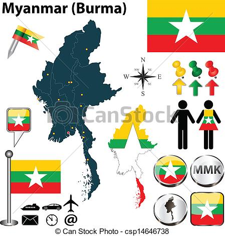 Burmese Illustrations and Clip Art. 324 Burmese royalty free.
