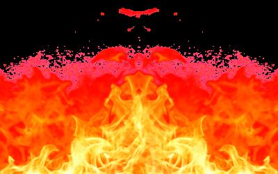 Burn down PNG.
