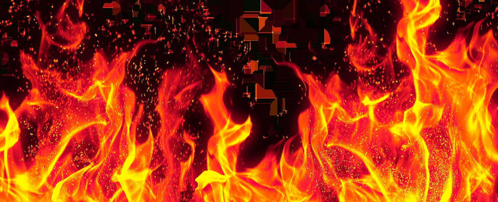 Burn PNG Transparent Image.