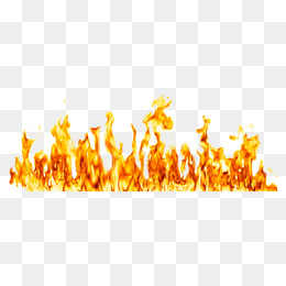 Burning Fire PNG Images.