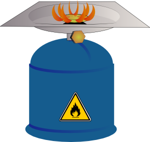 Camping Gas Burner clip art Free Vector / 4Vector.