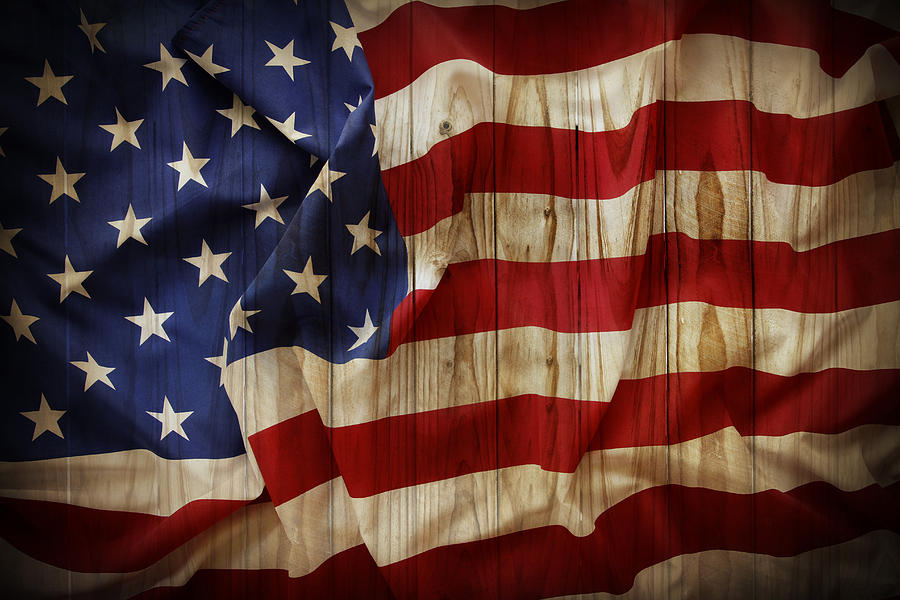 burning american flag clipart #8